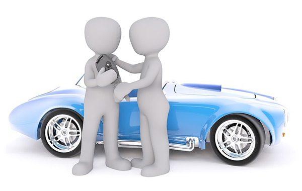 Motor verkopen aan dealer