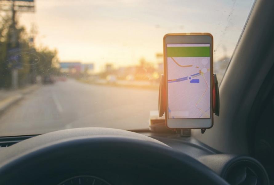 Smartphone navigeren