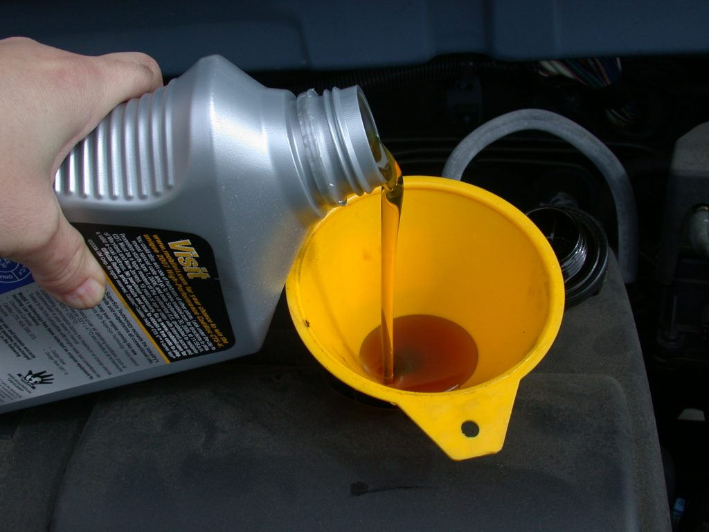 welke olie auto